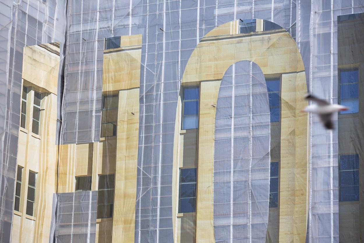 Mike Hewson: (Installation view) - Museum of Contemporary Art Australia, The Rocks, Sydney