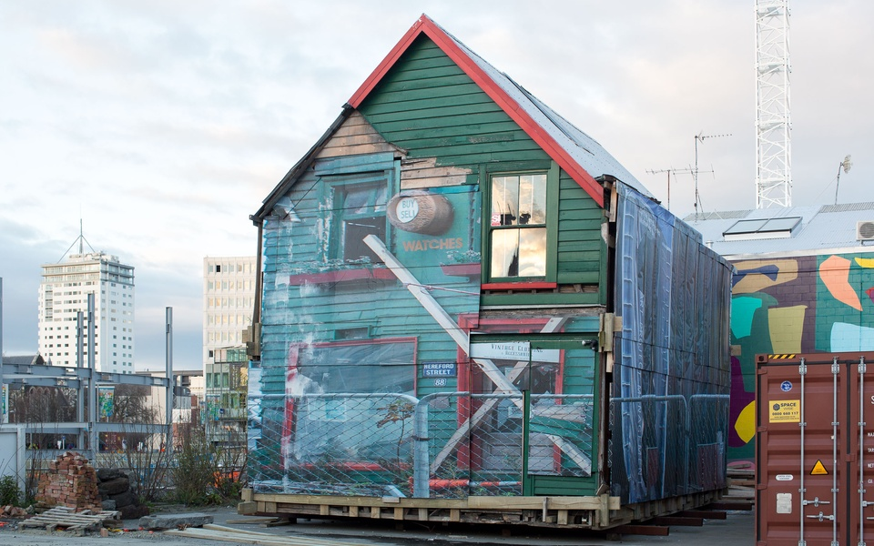 Mike Hewson: Un-PACE-d (2nd iteration) - Christchurch CBD, New Zealand