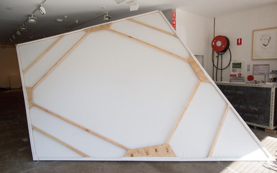 Mike Hewson: (Installation view) - Firstdraft Gallery, Surry Hills, SYDNEY
