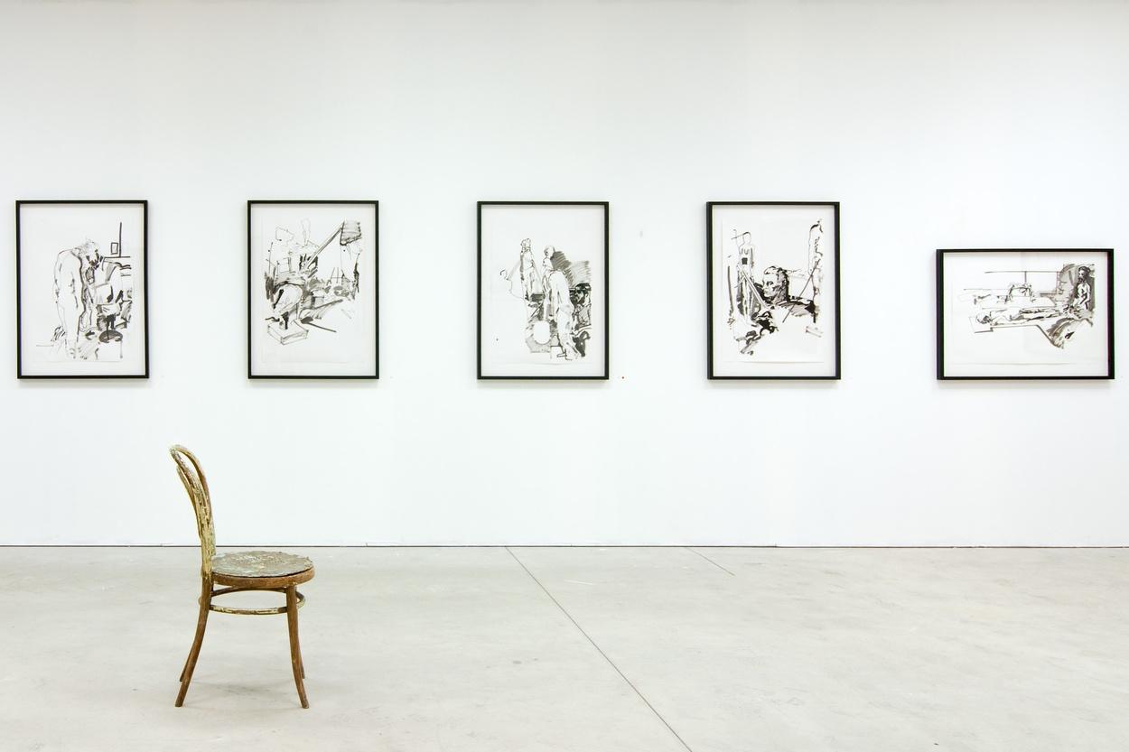 Mike Hewson: (Installation view) - Alexis Fine Art, Christchurch, NZ