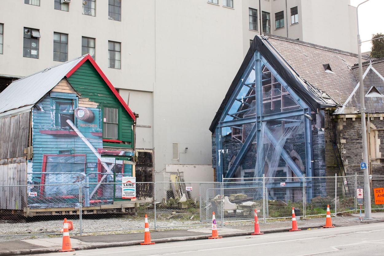 Mike Hewson: Un-PACE-d (new location) - Christchurch CBD, New Zealand