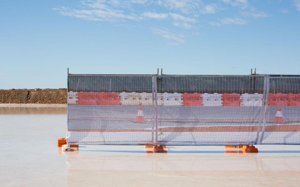 Mike Hewson: (Installation View) - Port Hedland, Western Australia