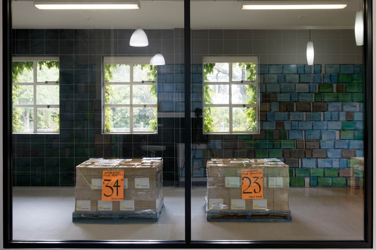 Mike Hewson: The Physics Room Fundraiser 2018 (Installation View) -
