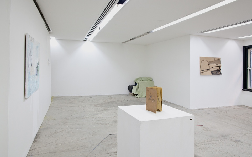 Mike Hewson: (Installation view) - 13 Cambridge St, The Rocks, Sydney