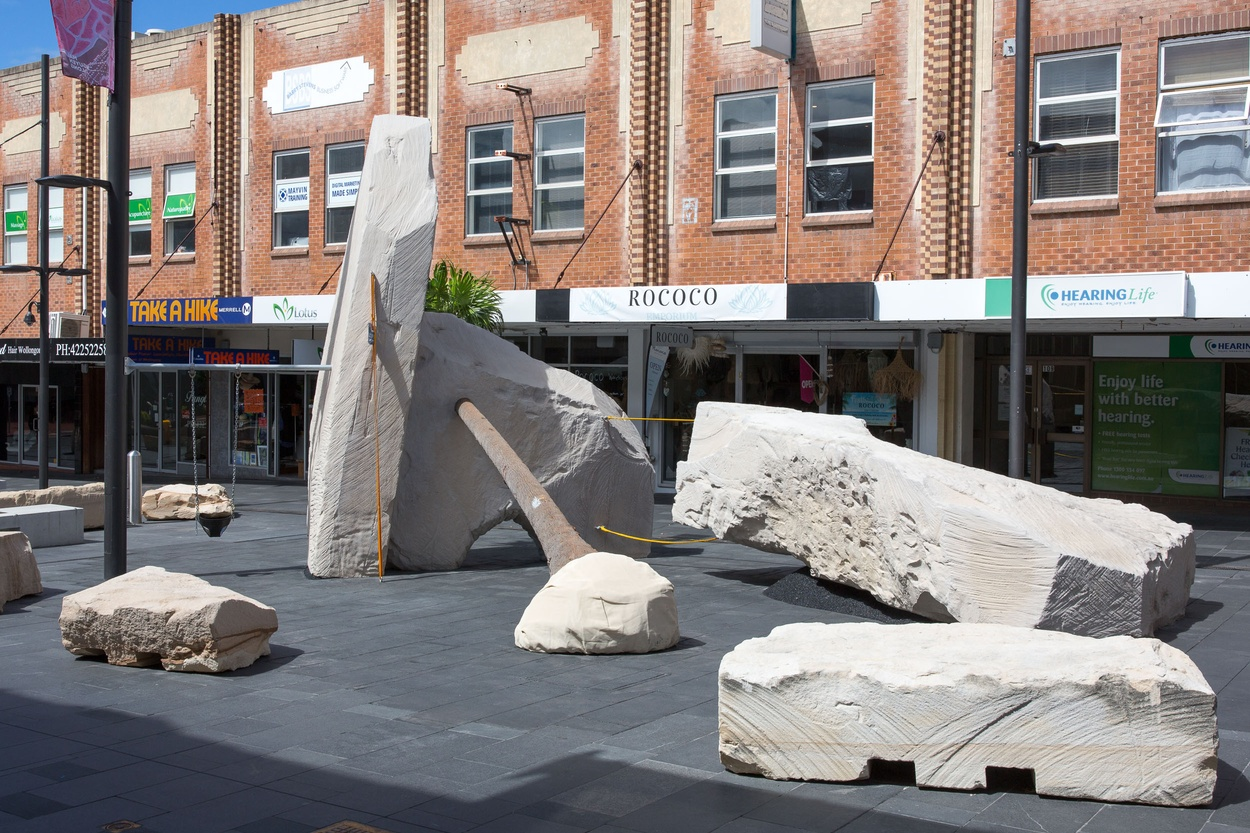 Mike Hewson: Landscape Playground - Crown St Mall