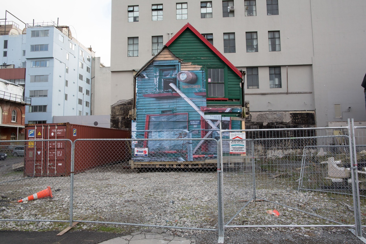 Mike Hewson: Un-PACE-d (new location) - Christchurch CBD, New Zealand