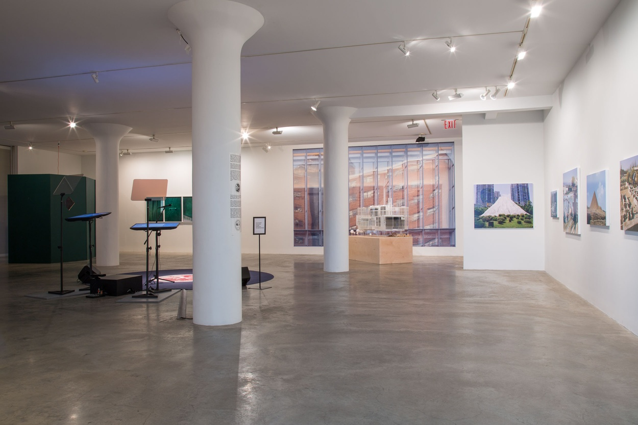 Mike Hewson: (Installation View) - 1st Floor, Fisher Landau Centre for Art