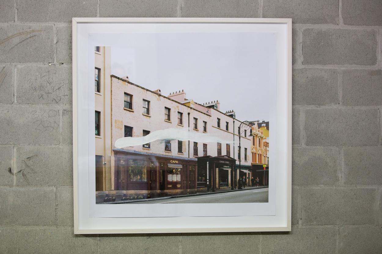 Mike Hewson: Unwin's Sketch 1 - Shop 25, The Rocks Square, The Rocks, Sydney