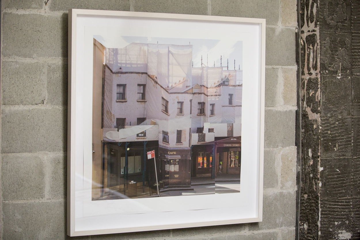 Mike Hewson: Unwin's Install Stage 2 - Shop 25, The Rocks Square, The Rocks, Sydney