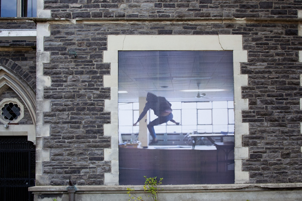 Mike Hewson: (Installation view) - Cnr Kilmore & Montreal Ave, Christchurch CBD, NZ