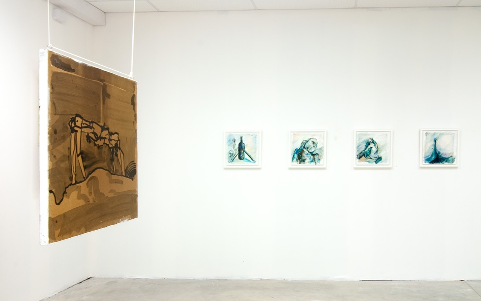 Mike Hewson: (Installation view) - Alexis Fine Art, Christchurch, NZ