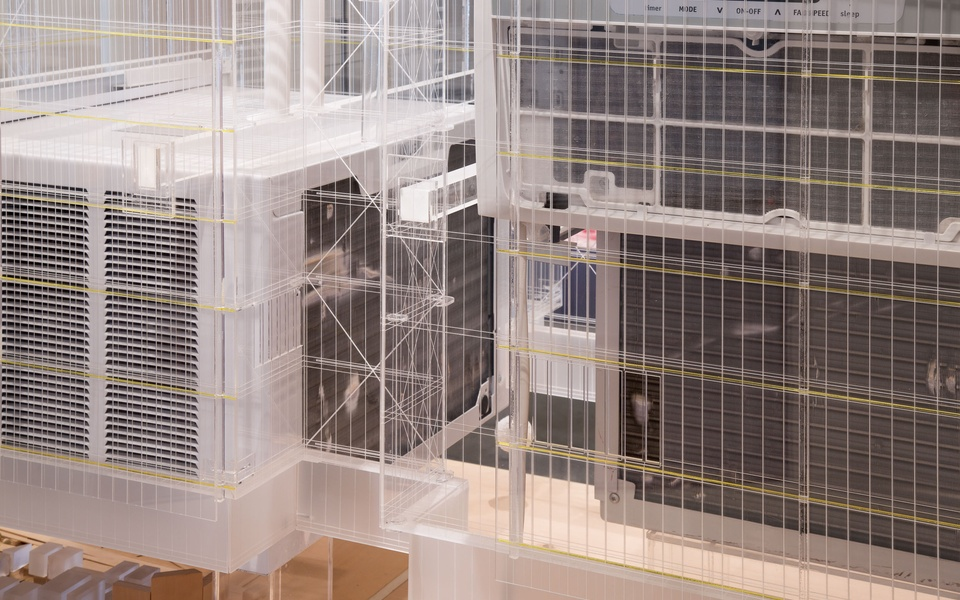 Mike Hewson: (Installation View) - Fisher Landau Centre for 1st Floor, Fisher Landau Centre for Art