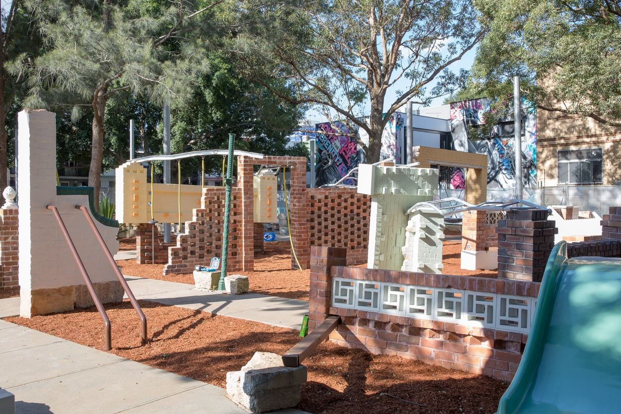 Mike Hewson: St Peters Fences - Simpson Park, St Peters, NSW AUSTRALIA