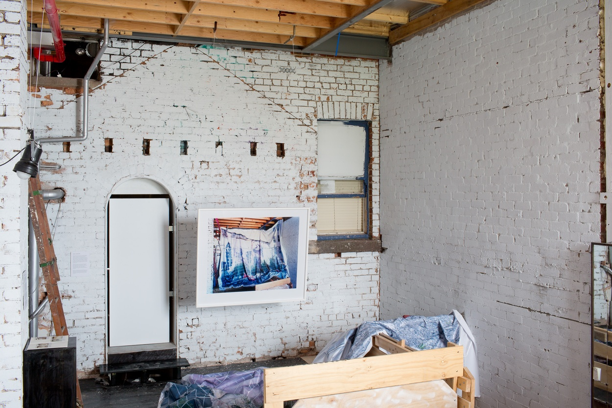 Mike Hewson: (Installation view) - Martin Allen Antiques,  436 Clarendon St, South Melbourne