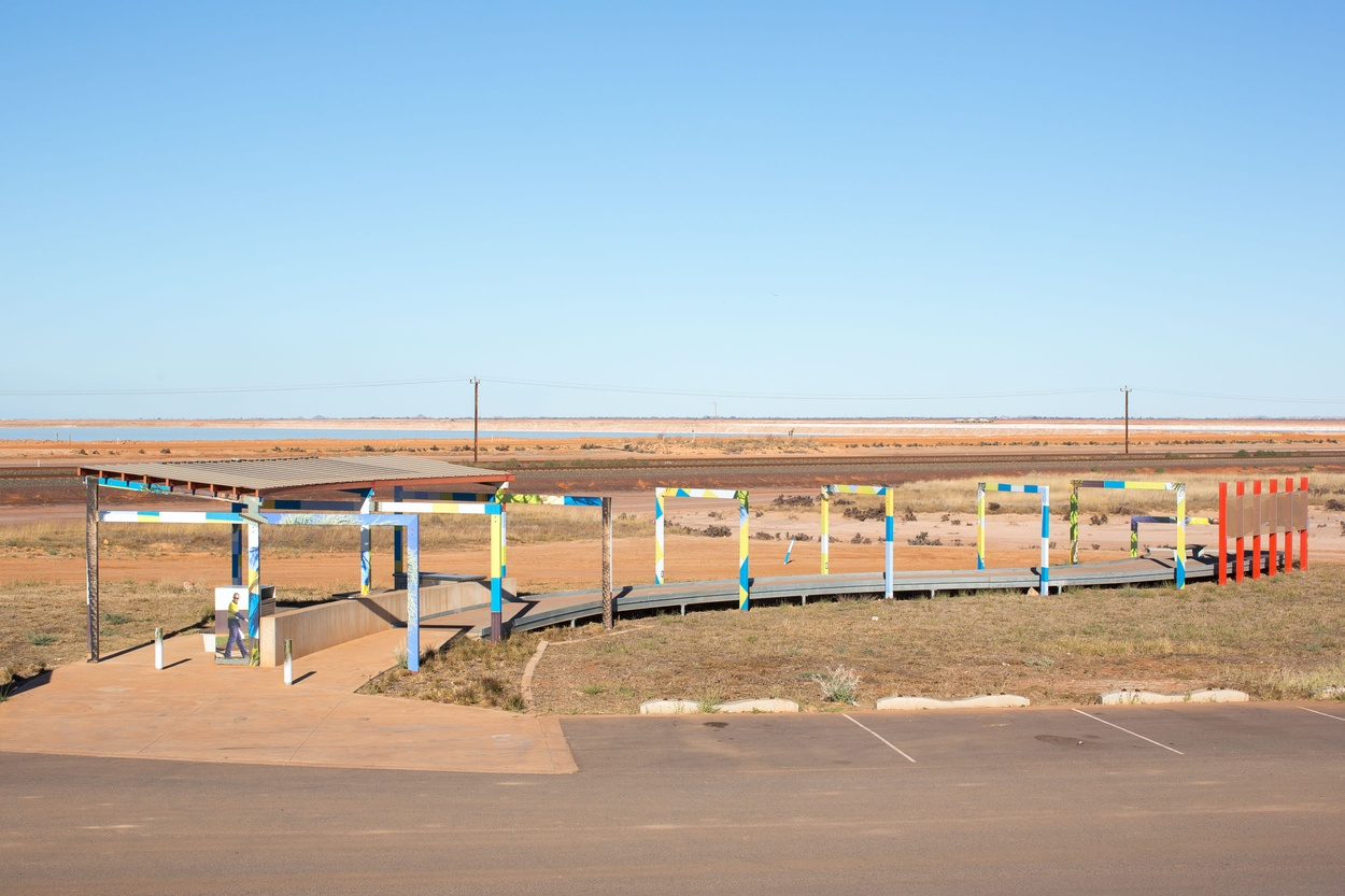 Mike Hewson: (Installation View) - Port Hedland, Western Australia