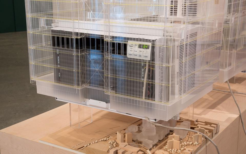 Mike Hewson: (Installation View) - 1st Floor, Fisher Landau Centre for Art