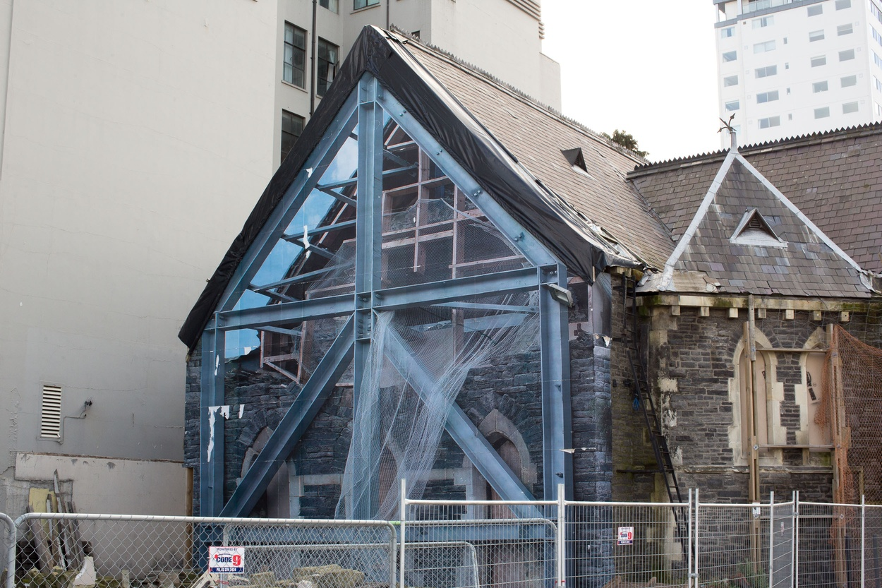 Mike Hewson: (Installation View) - Trinity Church, Cnr Manchester St and Worchester St, Christchurch, NZ