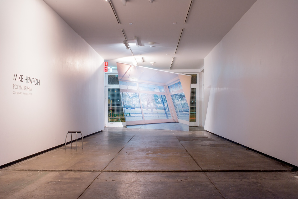Mike Hewson: (Installation view) - Firstdraft Gallery, Surry Hills, SYDNEY