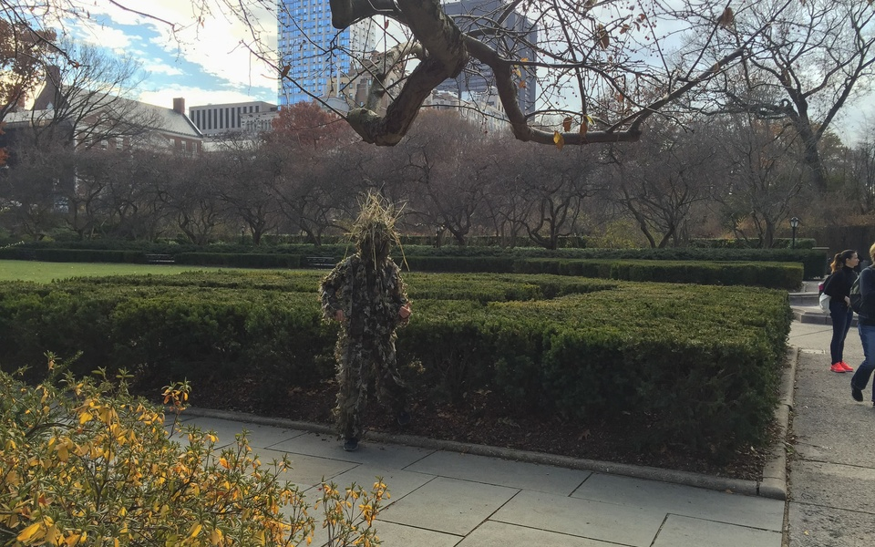 Mike Hewson: (Installation View) - Central Park, New York City