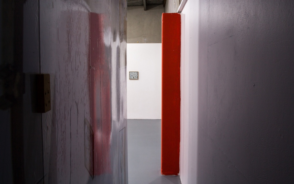 Mike Hewson: (Installation VIew) - Dog Park Art Project Space, Waltham, Christchurch, NZ
