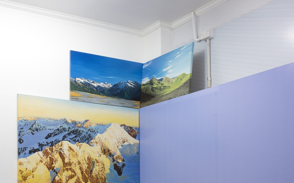 Mike Hewson: (Installation view) - Blue Oyster Art Project Space, 16 Dowling St, Dunedin, NZ
