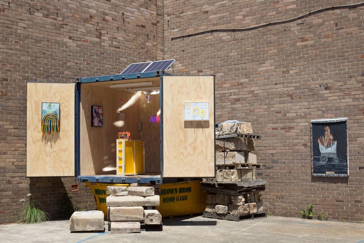Mike Hewson: (Installation View) -