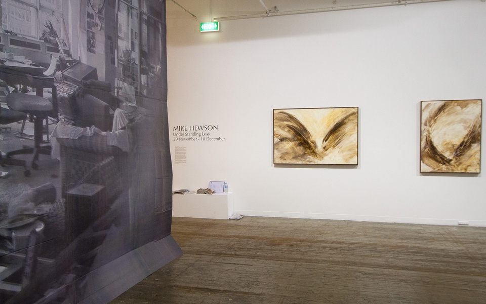 Mike Hewson: (Installation view) - 45 Flinders Lane, Melbourne