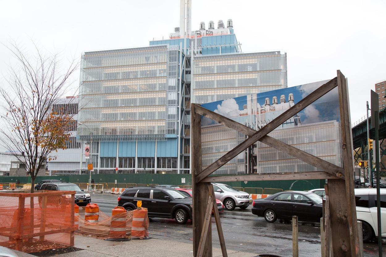 Mike Hewson: 125th St Rejuvenation - McDonald's Parking Lot, 125th St and Broadway, Harlem